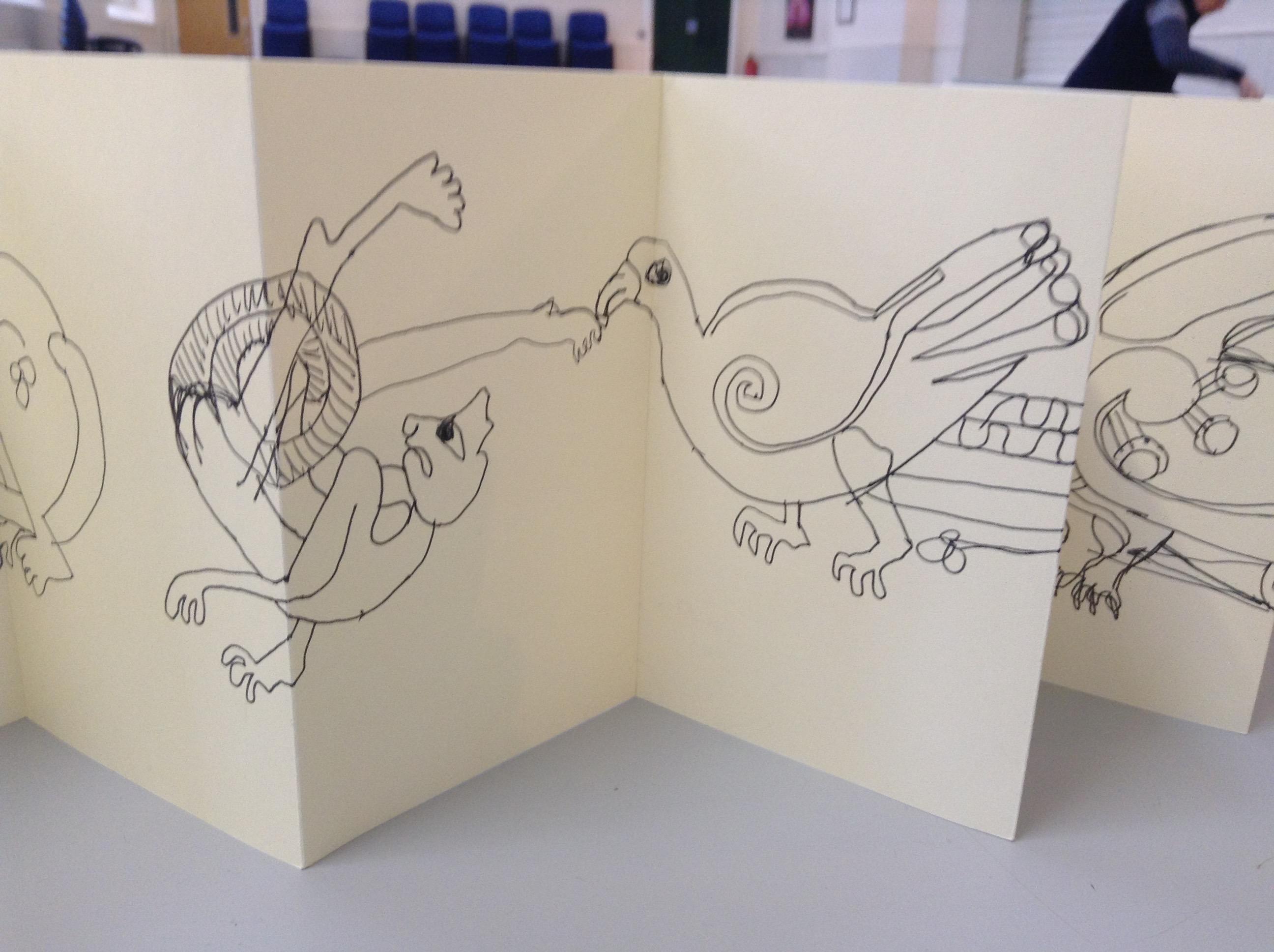 Kells Margins Sketch Book 001