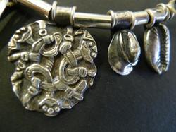 silver 3D print viking