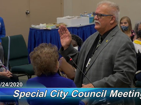 """We Are Titusville"", says Dan Diesel at First Council Meeting as Mayor"