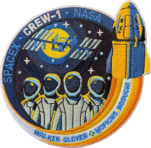 SpaceX-designed Crew1 Patch.JPG