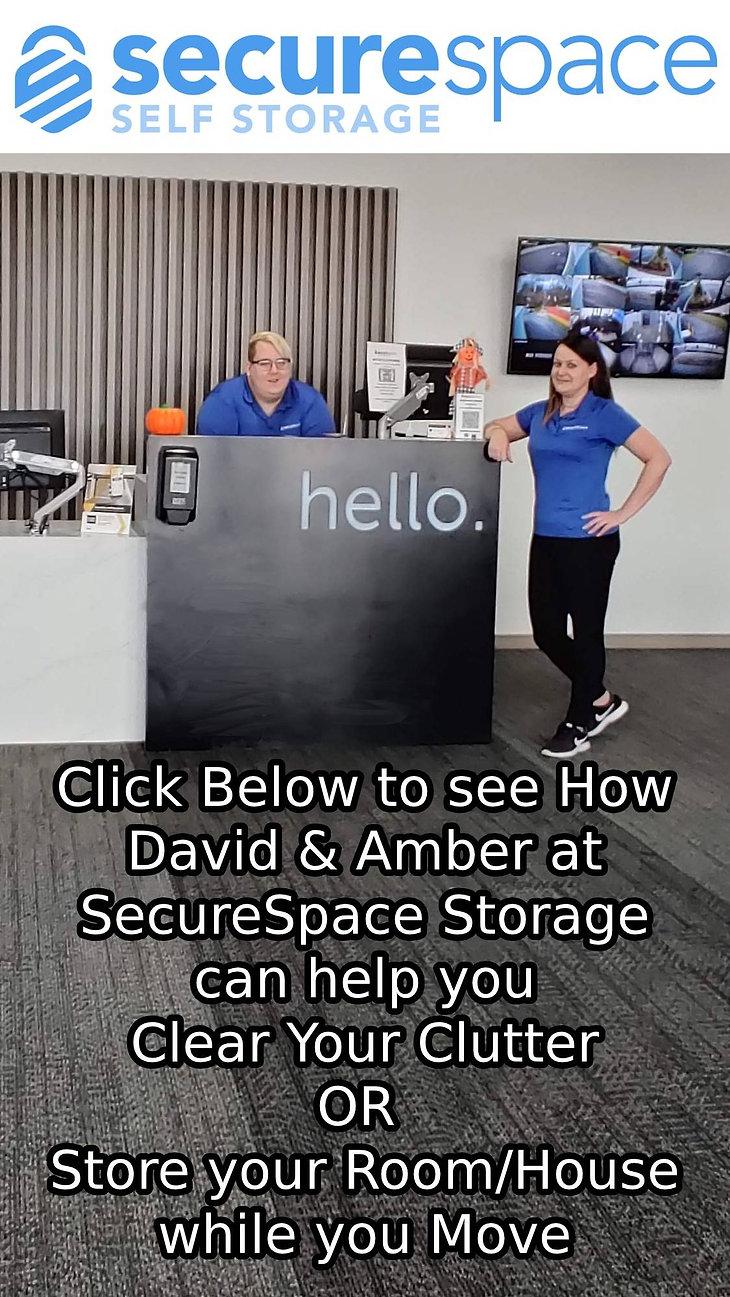 Newsletter Parallax Advert - SecureSpace