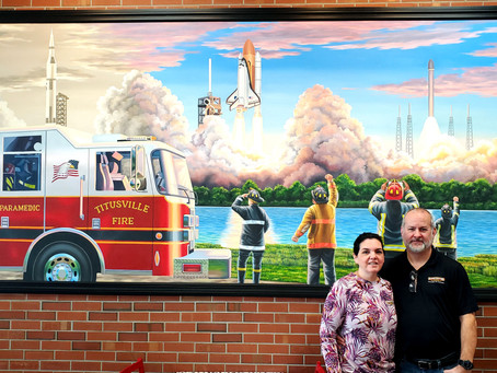 Firehouse Subs at Titus Landing Celebrates 3 Year Anniversary