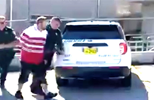 Sheriff Wayne Ivey Walks Animal Abuse Suspect Into Jail After Starving Two Dogs to Death