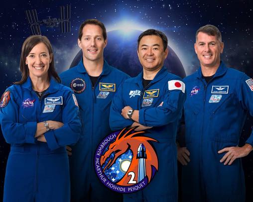 NASA Crew-2 Mission Press Conference