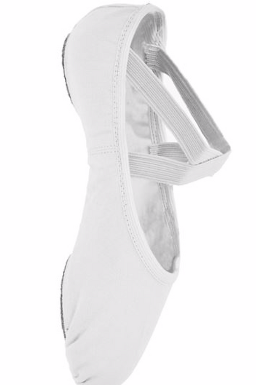 COVID Safe no-tie Ballet Shoes (Child size 8 +)