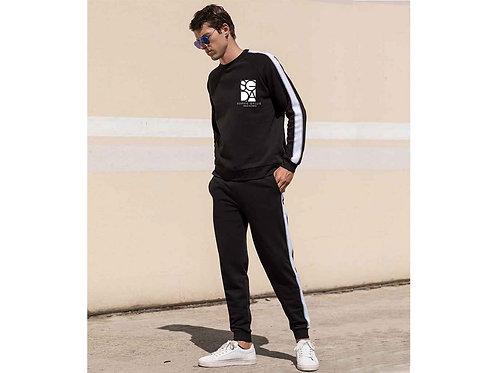 SGDA White Stripe Sweatshirt, Adult Sizes