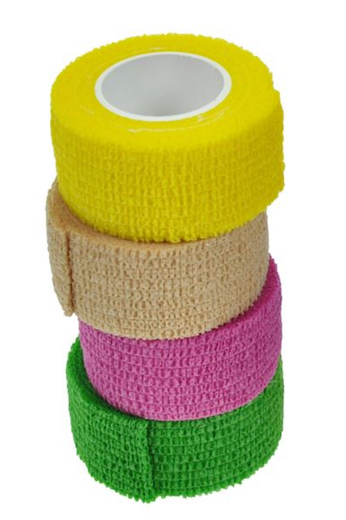 Bunheads Adhesive Neon Toe Wrap (Pack of 4)