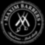 MAXIM BARBERS logo B_W.png