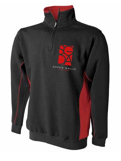 SGDA Adults1/4 Zip Sweatshirt