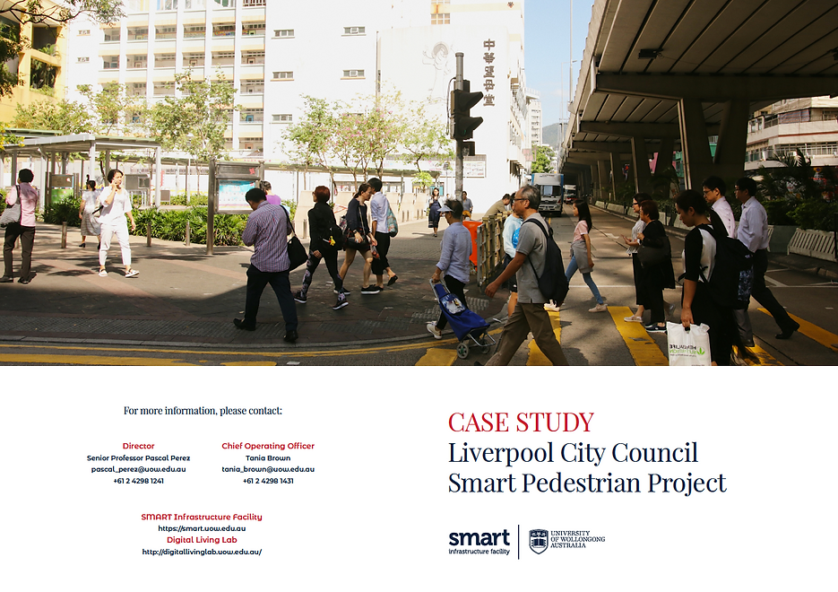 Liverpool City Smart Pedestrian Project