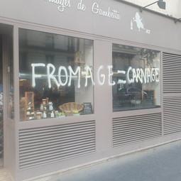 Une fromagerie vandalisée au nom de l'antispécisme