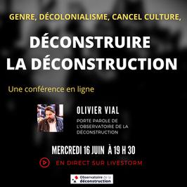 Conférence : Déconstruire la déconstruction