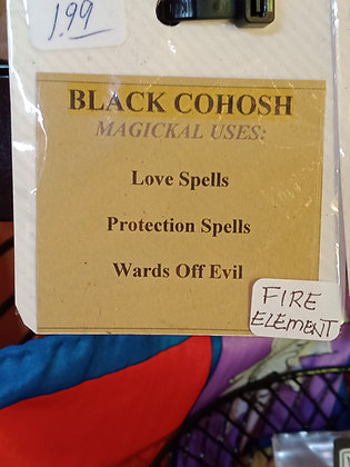 BLACK COHOSH dried powered herb