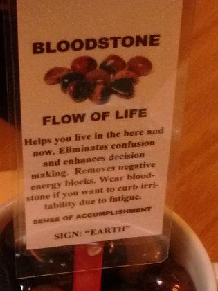 Bloodstone Stone - tumbled