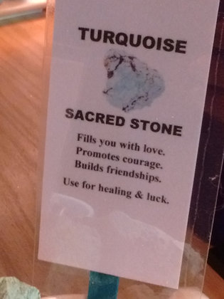 Turquoise Stone - Raw