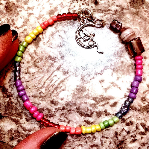 LGBTQ Rainbow Bracelet LARGE