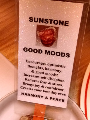 Sunstone Stone - Raw Natural