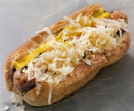Midwest Sauerkraut Dog