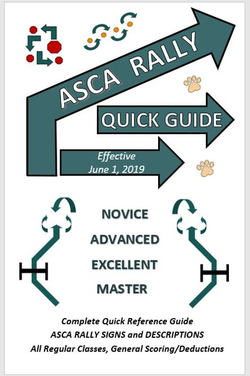 ASCA QUICK REFERENCE GUIDE