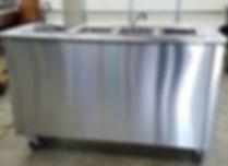 Mobile sink station