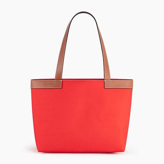 Petit sac cabas Le Tanneur Estelle rouge