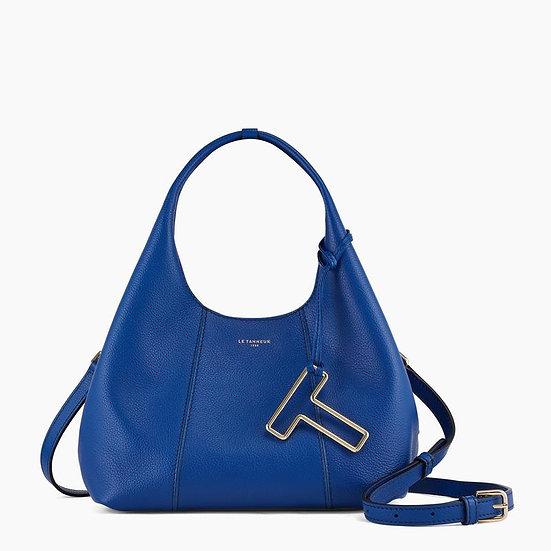 Petit sac à main Le Tanneur Juliette en cuir grainé bleu
