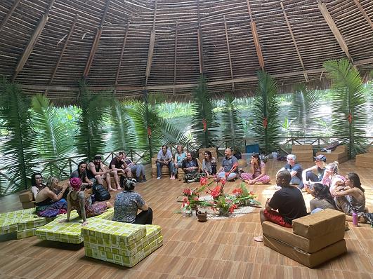 Sharing Circle - Ayahuasca Retreat - Kat