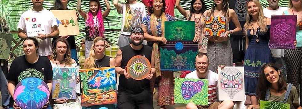 Ayahuasca Art & Medicine Retreat with Ch