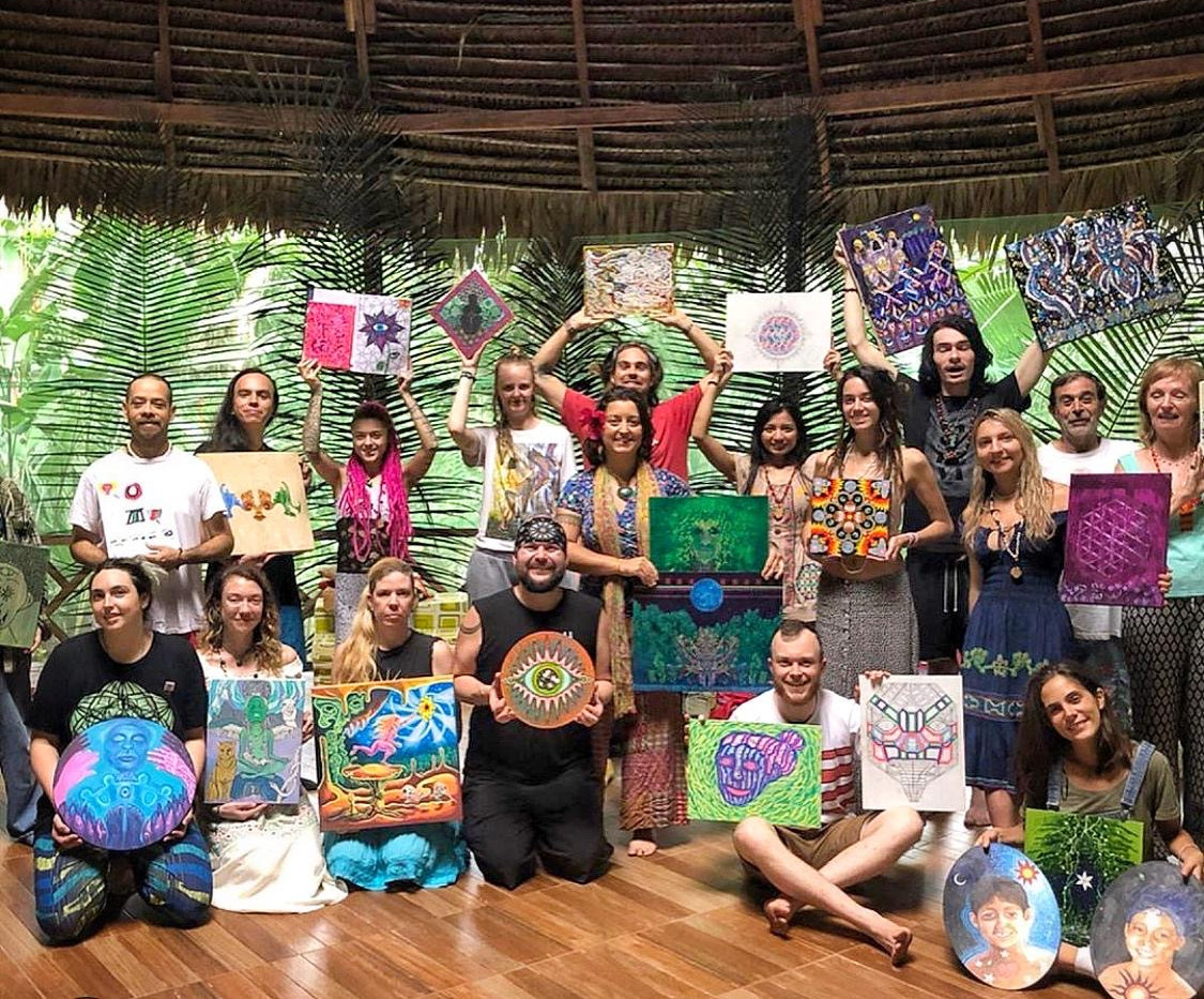 Ayahuasca Art & Medicine Retreat with Ch