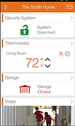 Home Alarm Monitoring App