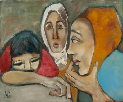 mulheres de Beirute