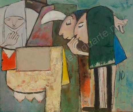 a ovelha perneta e a pastora Henriqueta   the lame sheep
