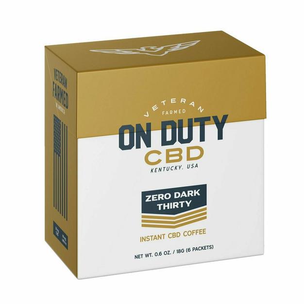 THC Free CBD Instant Coffee