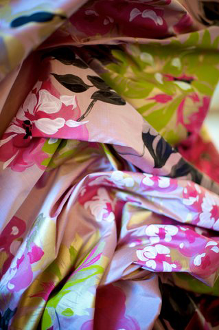 Silk, texture, colour, beauty