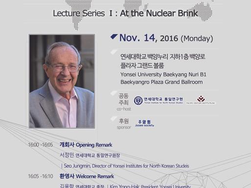 [특별강연] William J. Perry Lecture Series