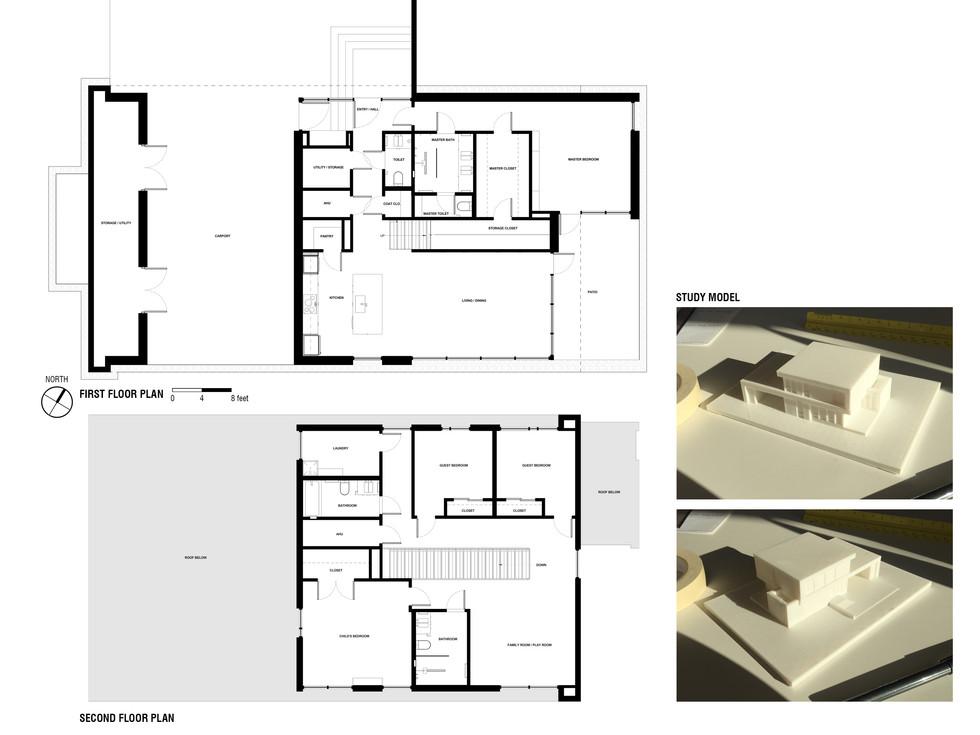Floor plans & model studies