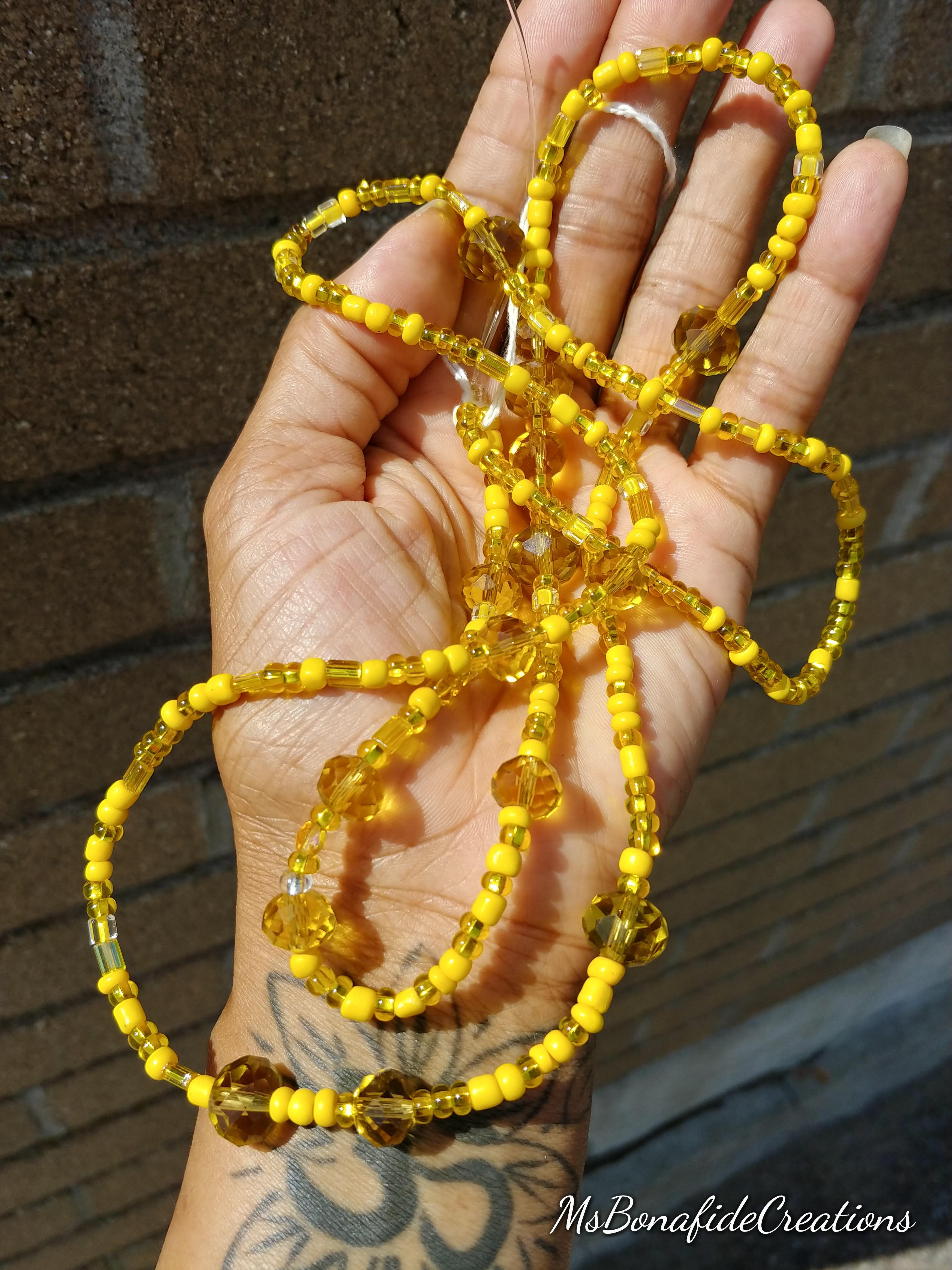 Sun Goddess Waist Beads