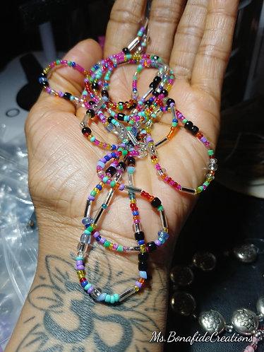 Confetti fun Waist Beads