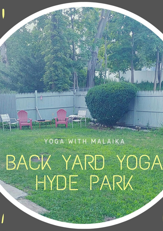 Back Yard Yoga