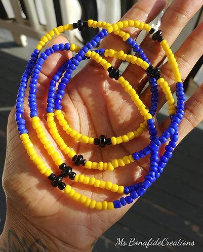 Barbados Flag Waist Beads