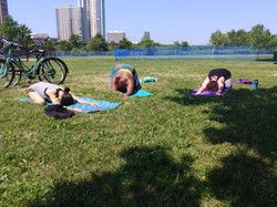 Outdoor Yoga at the River