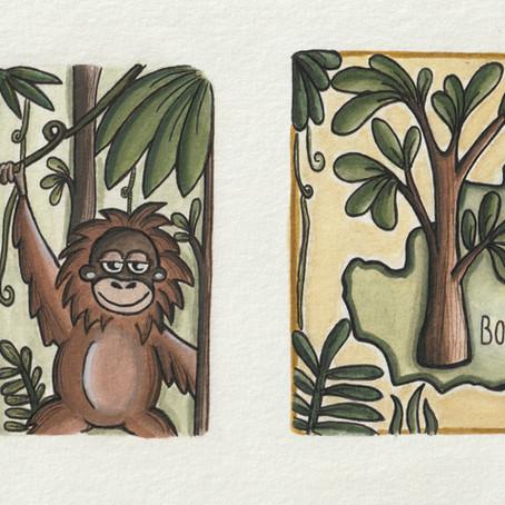 Jede Unterstützung spendet Regenwald