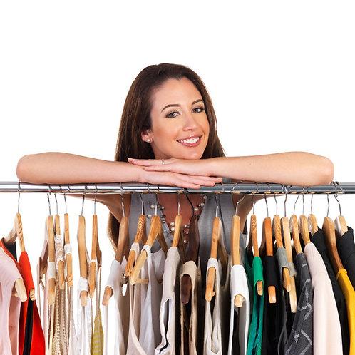 Revize šatníku a konzultace