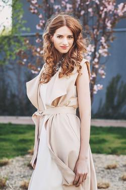 Malé bílé šaty