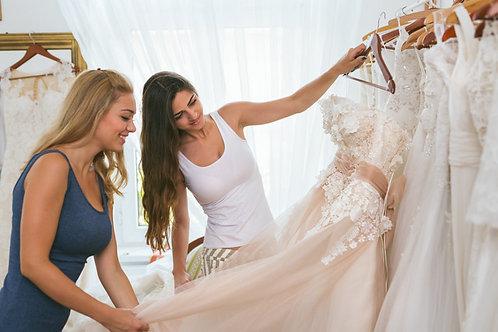 Svatební styling nevěsty a ženicha