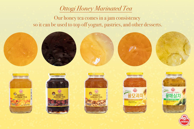 Refresh your day with Iced Ottogi Honey Citron Tea! – OTG NEW YORK