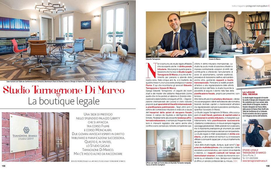 Torino Magazine, tamagnone di marco, edoardo tamagnone, avv tamagnone