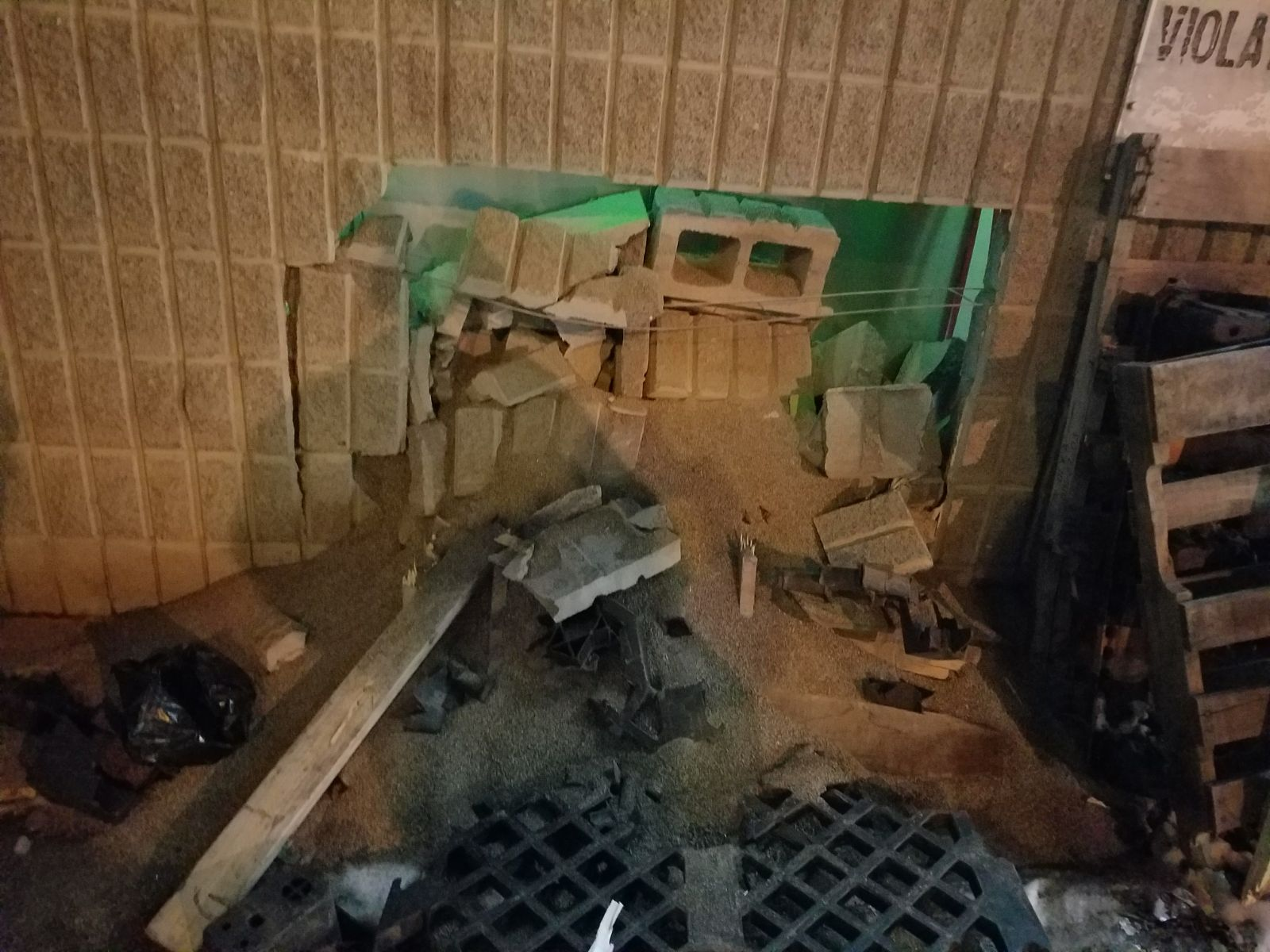 Impact Structural Damage