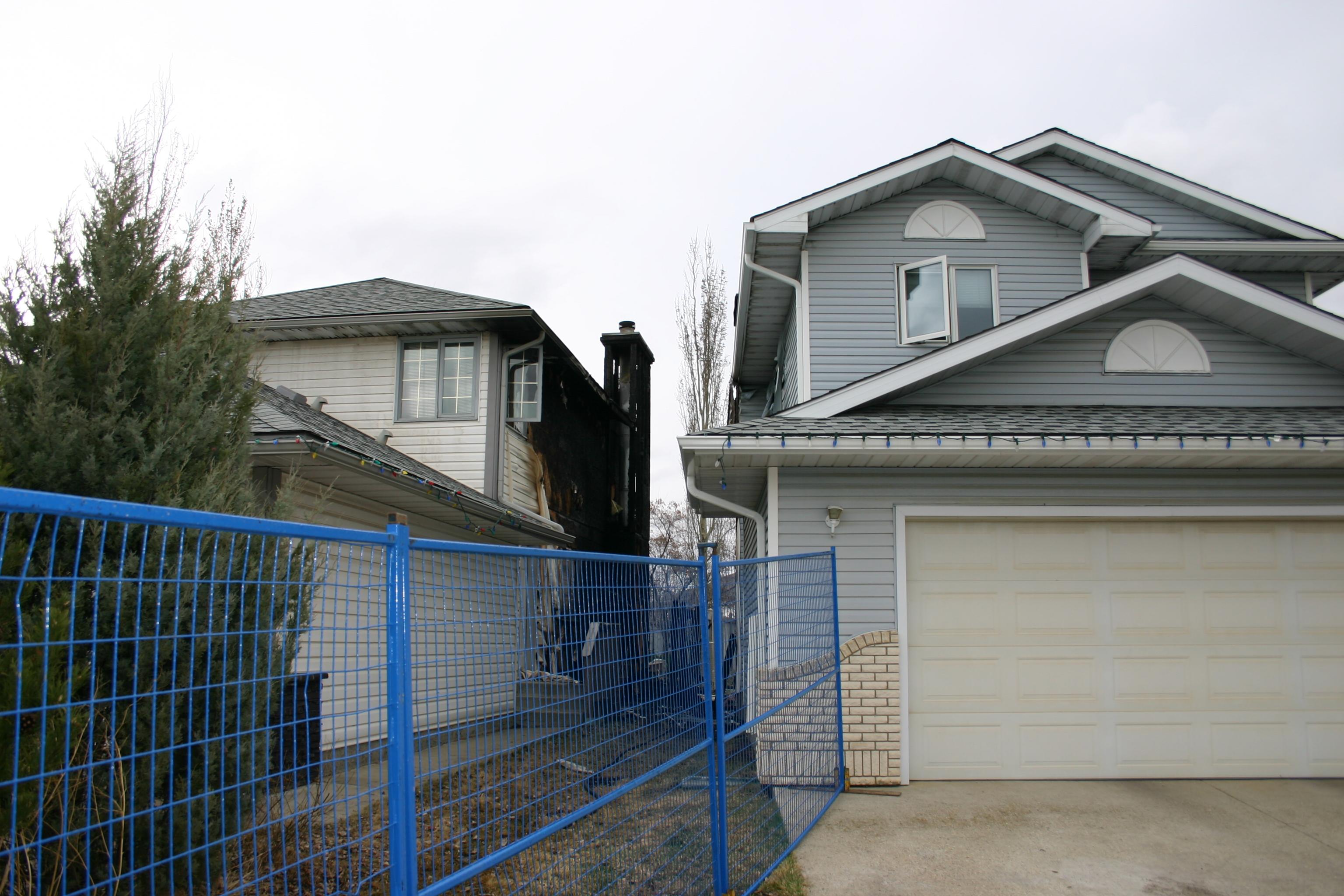 Edmonton Millwoods House Fire