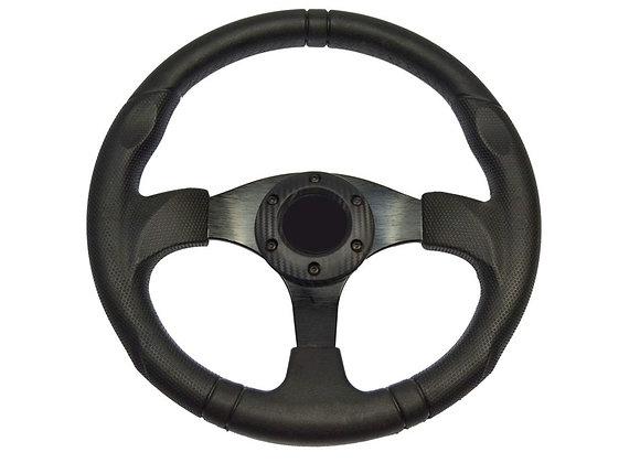 Universal PU Blue Steering Wheel 320mm Off Road / Marine / Golf Cart 8914